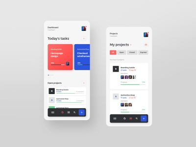 #17 TaskApp - Mobile App Concept project manager managing clean flat minimalistic concept iphone ios andorid phone app mobile application taskmanager projects task manager ux ui