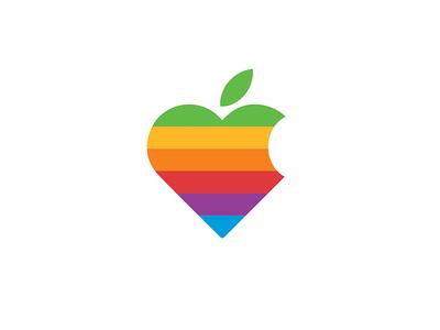 Apple InstaHeart - Retro