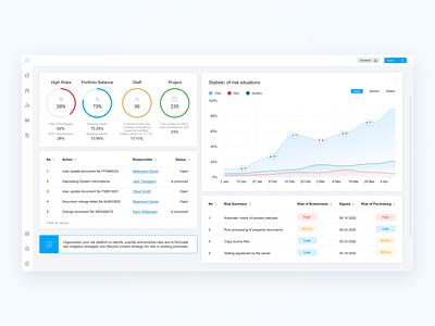 Web Dashboard web analitycs statistics interface admin panel platform dashboad