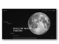 Hollow Moon Theory