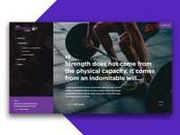 GForce Fitness Webdesign