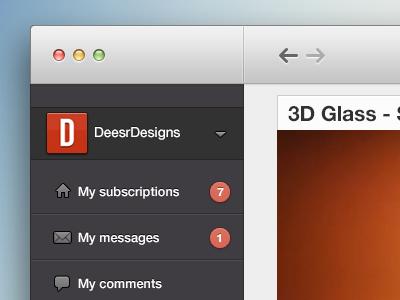 YouTube Mac App youtube mac app layout concept photoshop ui gui appstore
