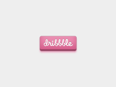 CSS Button css button dribbble html