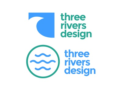 Three Rivers Design truro rivers design cornwall logos branding