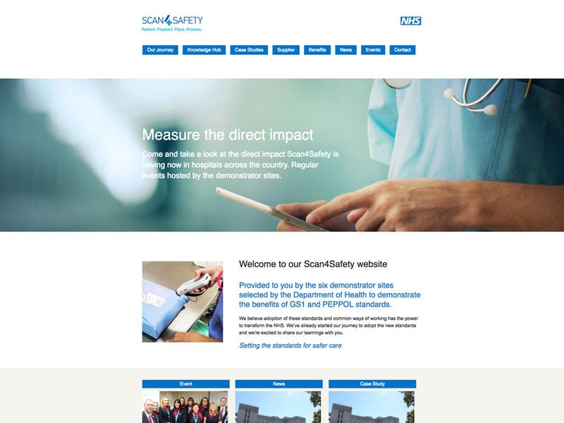 Scan4Safety Website