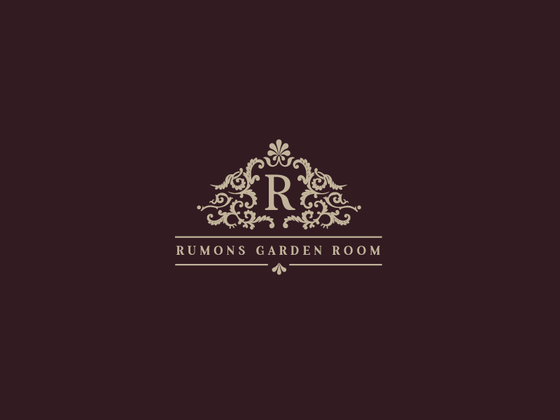 Rumons Garden Room website design social club illustrator branding identity