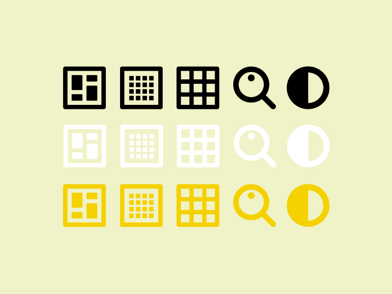 Icon Set pearson rich website icons illustration design