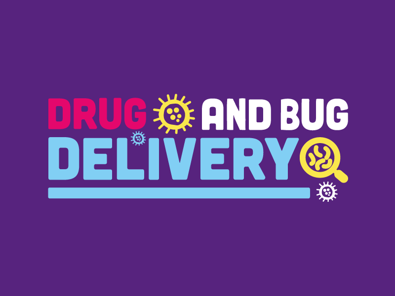 Drug and Bug Delivery Identity cornwall colourful design identity illustration