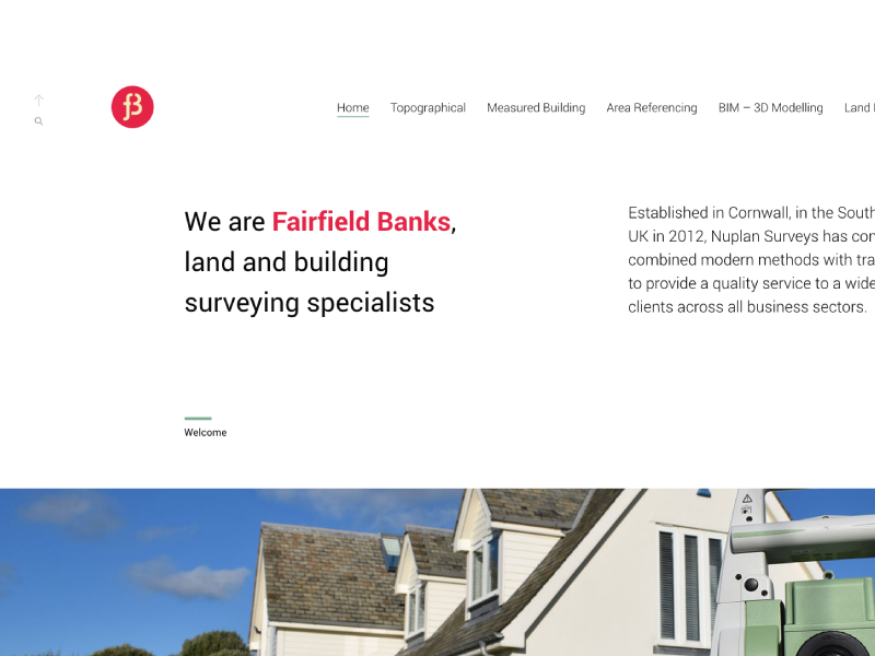 Fairfield Banks Website design layouts websites fairfield banks somerset bath surveys