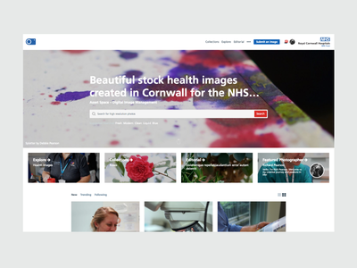 Asset Space - Stock Library web design library images stock care health nhs