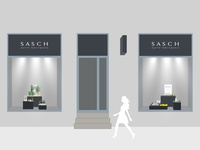 Sasch windows display