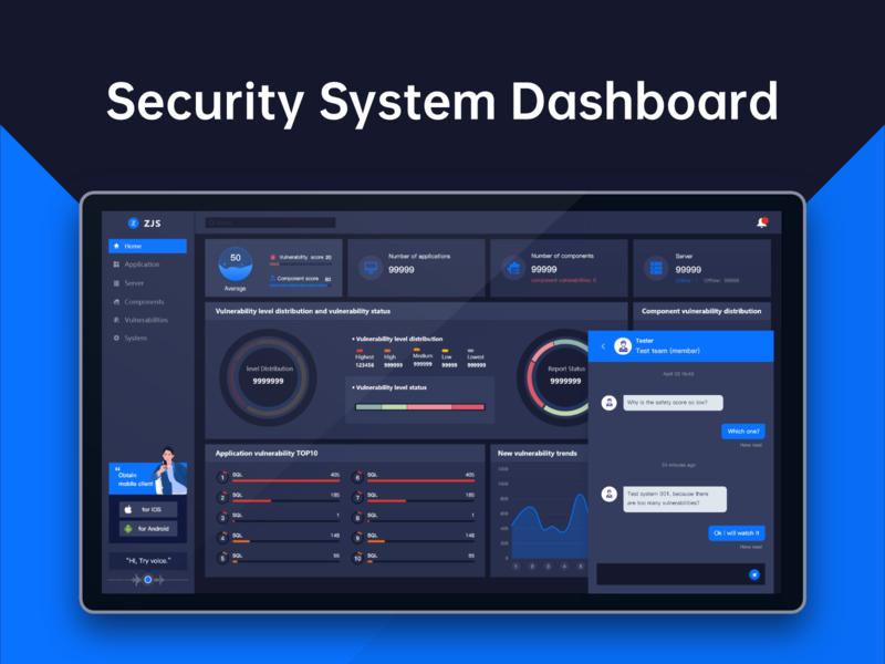 Security system dashboard 2 dashboard ui dashboard