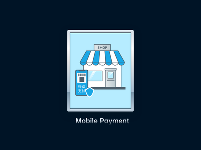 mobile payment illustrator mobile payment