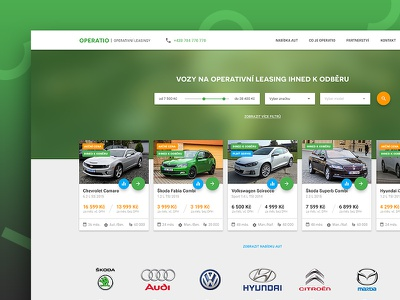 Operatio ui ux sketch material design operating app web rental car lease