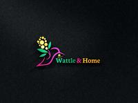 Wattle & Home Logo
