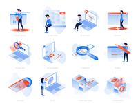 illustrations set