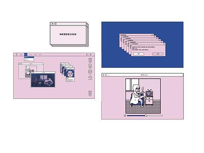 Kraft - Le petit chaperon rouge branding vector logo interaction design interaction illustration design graphics direction artistique ui