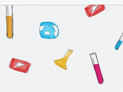 Random lab icon