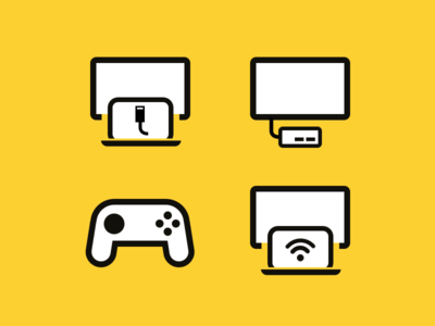 Device icons for meeting room booking system