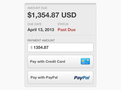Hosted Invoice Payment