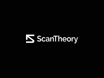 ScanTheory Logo Design - Brand Identity brand design brand mark logodesign logos drones concept minimal drone logotype icon typography design flat identity type 2d vector branding logo
