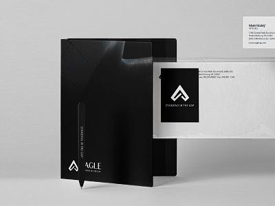 eagle brand identity shot system masculine modern black businesscard branding design brand identity brand design brand icon typography design flat type identity 2d vector branding logo