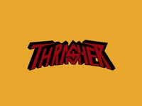 THRASHER SKATEBOARD MAGAZINE!