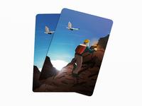 Contemporary Hermit card - TAROT