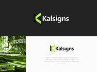 Kalsigns Logo Design