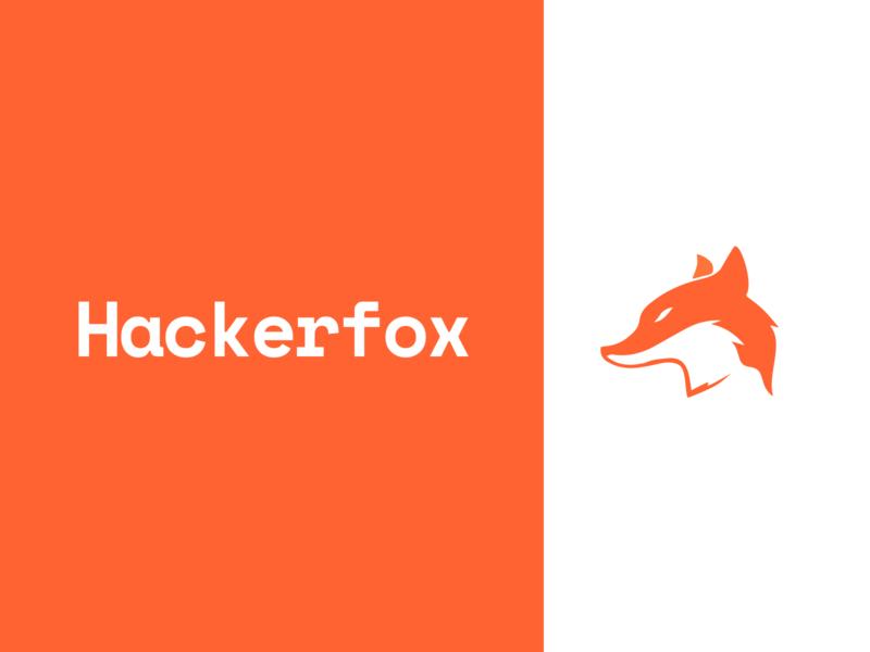 Hacker Fox Brand Identity web open source logo branding design branding