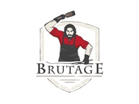 logo for clothing & equipment brand «Brutage»