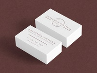 Anastasia Nikitina business card
