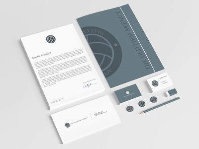 Corporate identity The «Old Firm» Agency old firm ball corporate identity symbol soccer logo football emblem company branding brand