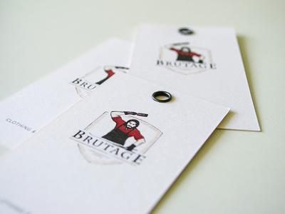 business card «Brutage»