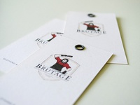 business card «Brutage»
