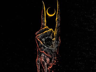 Available dark art merch metal art illustraion merchandise apparel apparel design horror art band merch merch design illustration artwork t-shirt design