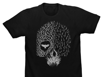 Available horror dark illustration horror art skull art skull band merch merch design illustration artwork t-shirt design