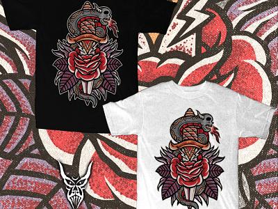 Available tshirt design tshirts merch apparel tattoo clothing tattoo design skull art skull merch design illustration artwork t-shirt design