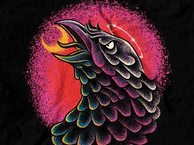Available merchandise merch clothing apparel design crow tshirt design band merch merch design artwork illustration t-shirt design