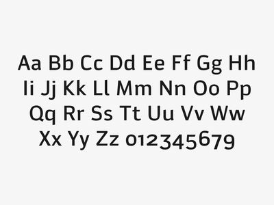 Viewport Typeface