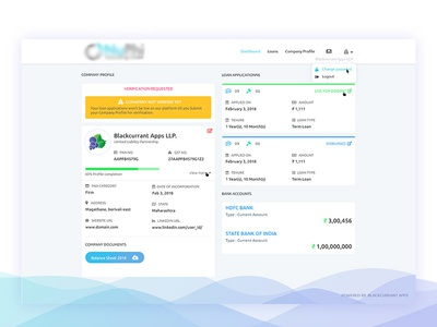 Finance Portal Dashboard