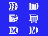 DM monogram exploration