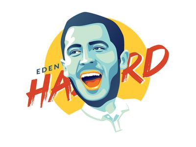 Vector Art of Eden Hazard