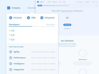 Navigation & Templates low fidelity ux strategy wireframes ui information architecture design ux