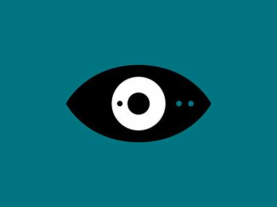 Detailed eye vector icon flat 2d design