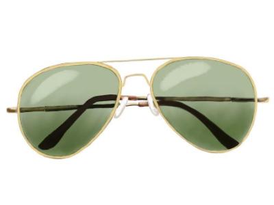 Sunglasses illustration aviators sunglasses illustration