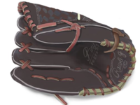 Baseball glove illustration