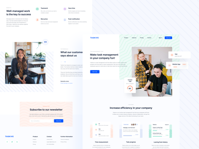 Taskive landing page task management task manager task vector pattern white typography product product page product design design website design website web landing page landing