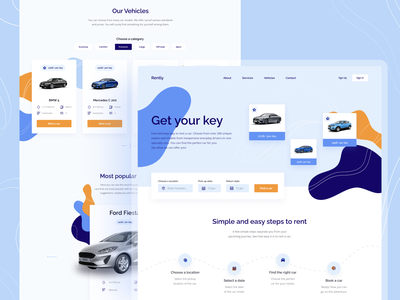 Car rental website vehicle abstract pattern minimalism figma typography clean concept rental car rental booking rent car uidesign ui uxui landingpage website design webdesign website