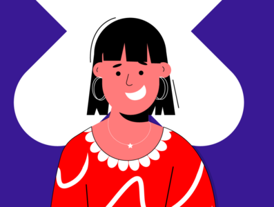 Faces expression dressing people face vector girl illustration 2d 2d character girl character character characterdesign smiley face girl